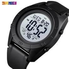 SKMEI-montre de Sport de plein air pour hommes, numérique, Durable, étanche, 2 heures, alarme, LED