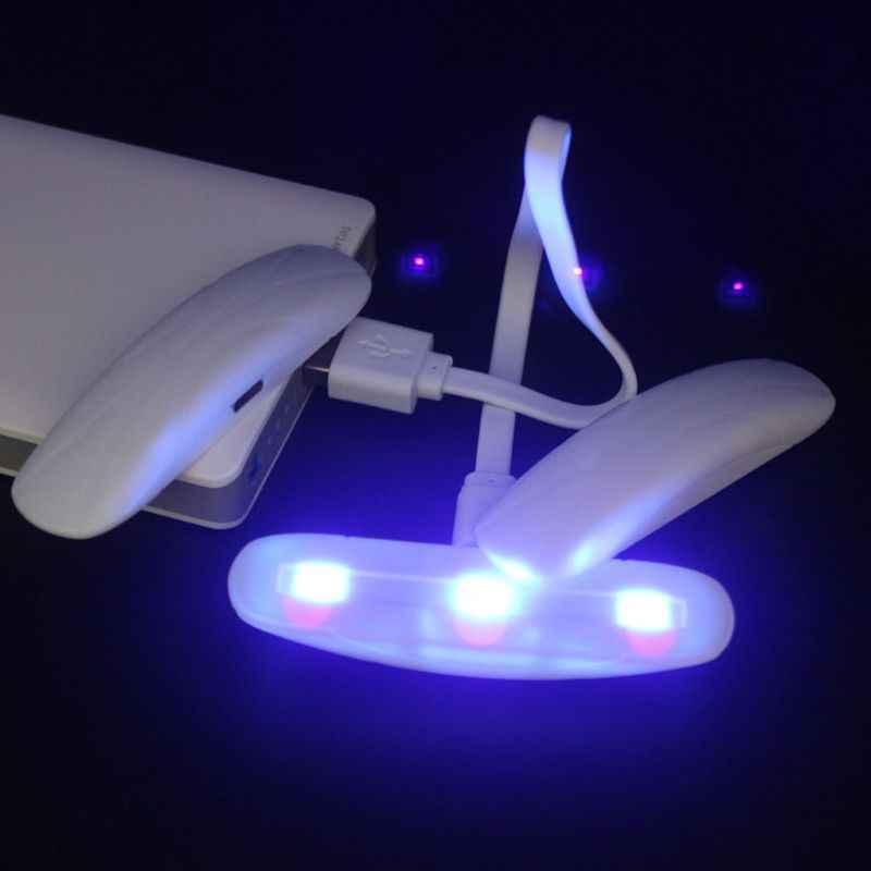 3 واط LED UV الراتنج علاج مصباح 395NW UV جل علاج أضواء USB تهمة أدوات المجوهرات X7YC
