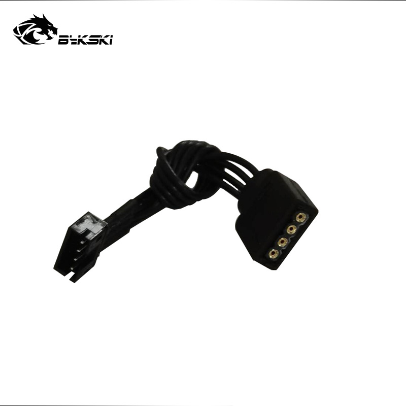Bykski AURA Motherboard 5V 12V Lighting Transfer Cable Connect ASUS/MSI Mainboard Adjust Fan Pump LED Light B-CNTR-95X3/4L 2