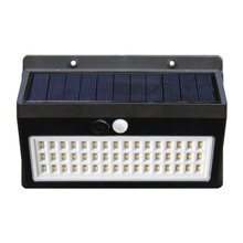 Настенный светильник на солнечной батарее уличный садовый домашний