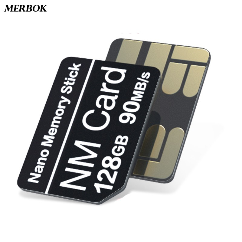 90MB/s 128GB Mobile Phone NM Card Nano Memory Card For Huawei P40 Pro/+ / P30 Pro With USB3.1 Gen 1 Type C NMCard NM-Card Stick