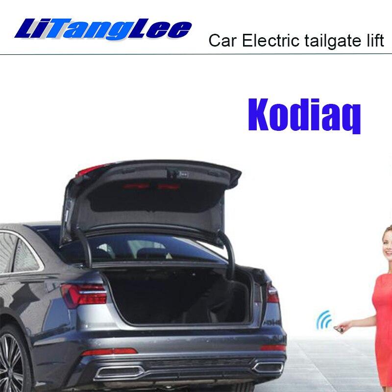 LiTangLee Car Electric Tail Gate Lift Trunk Rear Door Assist System For Skoda Kodiaq 2016~2019 Remote Control