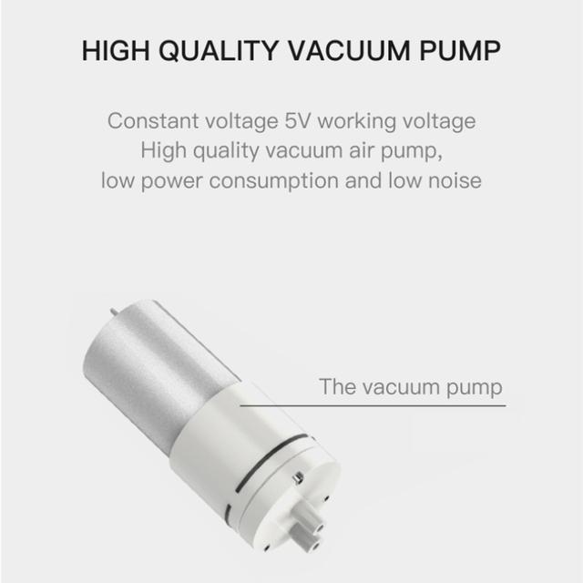 Portable Vacuum Blackhead Remover.