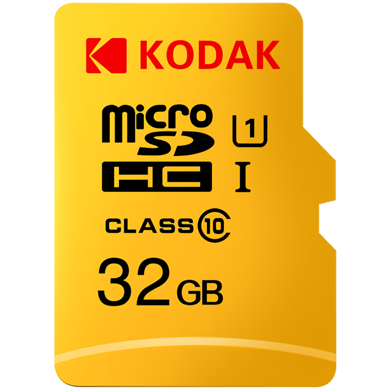 Kodak Memory Card 256GB 128GB 64GB U3 32GB Micro Sd Card Class10 UHS-1 Flash Card Memory Microsd TF/SD Cards For Tablet 512gb