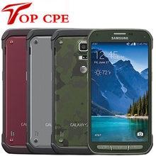 Samsung-teléfono inteligente Galaxy S5 Active G870 G870A, Original, desbloqueado, Quad Core, 2GB RAM, 16.0MP, pantalla táctil de 5,1