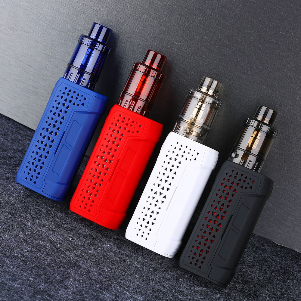 New Arrival 86W Tesla WYE II TC Kit With 4ml Citrine 24 Tank & Hollow Out Design E-cig Vape Kit VS Punk 86W/ Luxe/ Drag 2