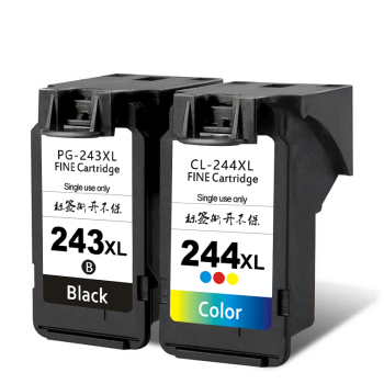 Remanufactured Ink Cartridge for Canon PG 243 CL 244 XL Multi Pack Compatible to TR4520 MX492 MG2520 MG2922 TS302 and TS202
