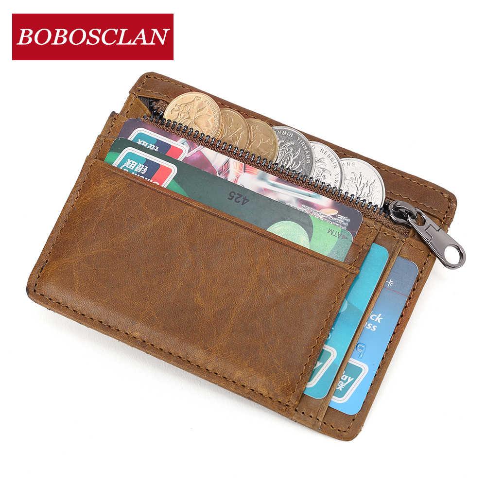 Bobosclan Wanita Dompet Kulit Dompet Wanita Kartu Tas untuk Wanita 2019 Clutch Wanita Perempuan Dompet RFID Memblokir Dompet
