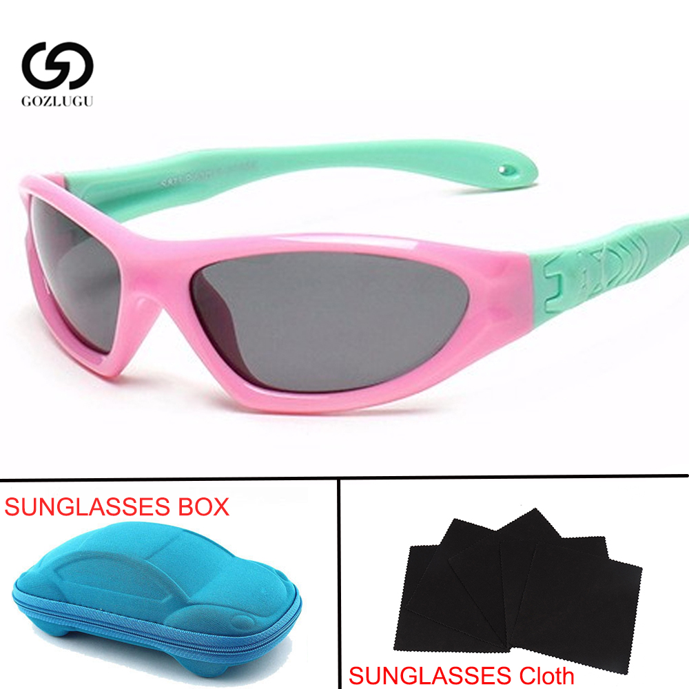 Children baby safety polarized sunglasses TAC children girls boys outdoor goggles