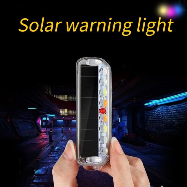 Wireless magnetic car opening door warning light led strobe flashing anti rear-end collinsion indicator lights signal lamp 1pcs