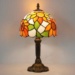 Image 5 - Artpad lampe de bureau, Design européen Vintage, style bohème, ac 110/LED V, décoration de chevet, chambre à coucher, mosaïque, verre ou mosaïque, ac 220V