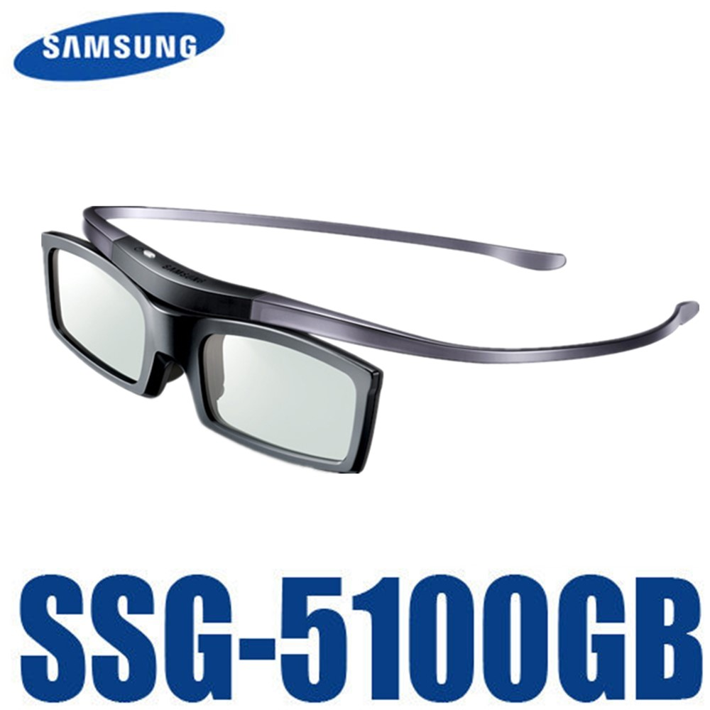Оригинальный Ssg-5100GB 3D Bluetooth активные аксессуары для глаз, солнцезащитные очки для всех моделей Samsung / SONY ТВ серии SSG5100 3D очки