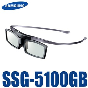 Image 1 - מקורי Ssg 5100GB 3D Bluetooth פעיל Eyewear משקפיים לכל Samsung / SONY טלוויזיה סדרת SSG5100 3D משקפיים