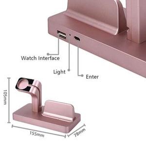 Image 5 - 2In1 Apple için şarj Dock İstasyonu şarj tutucu iPhone 11 pro xs max xr 7 8 cargador inal mbrico chargeur sans fil