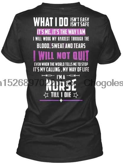 Медсестра-кормление-RN-CNA - LPN - . .. Женская свободная футболка (1)