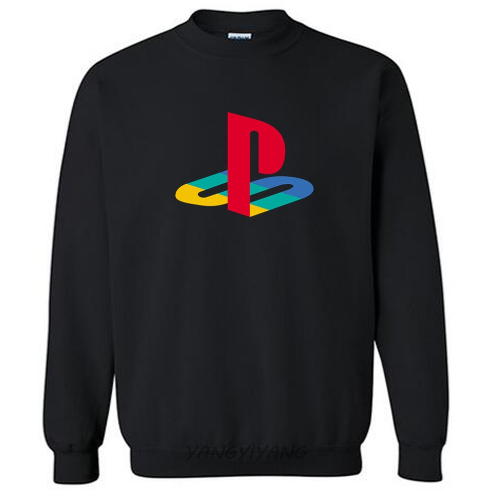 Hoodies Fashion Gamer Logo Playstation Sony Brand Sweatshirt Luxury Licensed Autumn Men