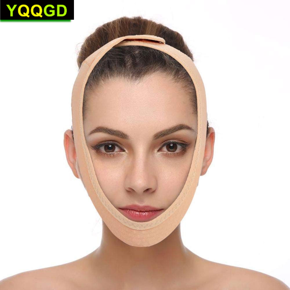 1Pcs V Line Mask, Face Lift Band Facial Slimming Double Chin Strap Weight Loss Belts Skin Care Chin Lifting Firming Wrap