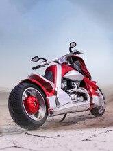 Hobbies colecionáveis modelo de motocicleta brinquedos huayi modelo 1:12 yamaha tyrannosaurus V-REX veículos diecast com sons e luz