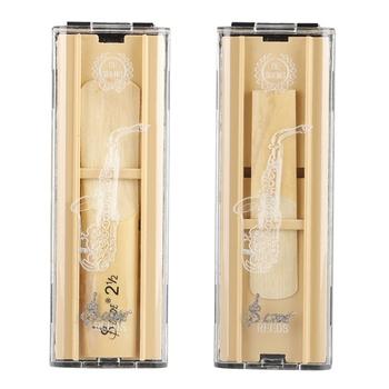 Akcesoria do instrumentów muzycznych Sax przezroczyste pudełko ochronne Reed Reed Box (może pomieścić dwie stroiki) części 2021 tanie i dobre opinie CN (pochodzenie) other