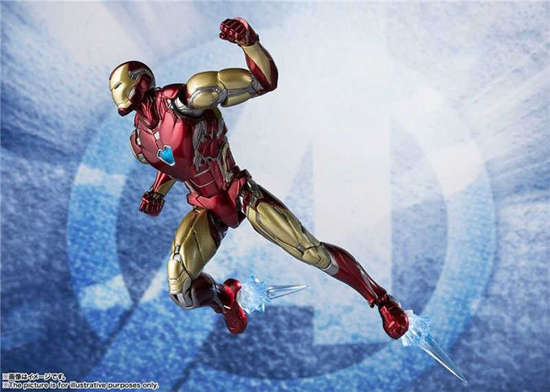 6 polegada shf avengers 4 endgame homem de ferro mk85 figura ação brinquedo boneca modelo natal presente