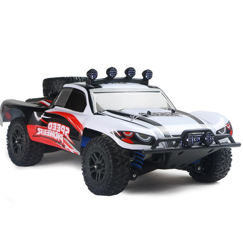 2.4G <font><b>RC</b></font> Car 4WD 45km/h Full Proportion High Speed <font><b>Drift</b></font> Monster Truck Remote Control BigFoot Buggy Off-Road SUV Electronic Toys image