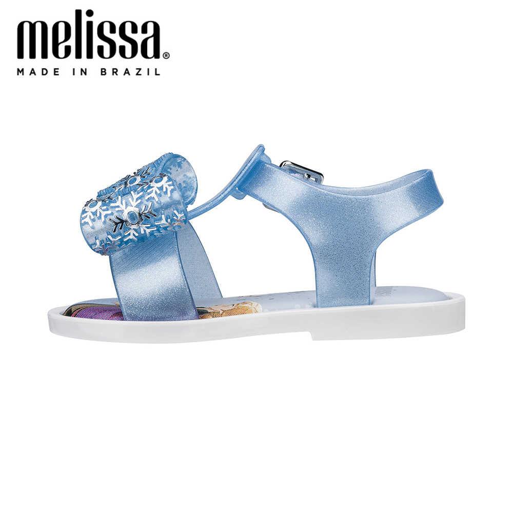 Mini Melissa Mar Sandaal + Sneeuw Meisje Jelly Schoenen Sandalen 2020 Baby Schoenen Melissa Sandalen Voor Kids Antislip prinses Strand Sandalen