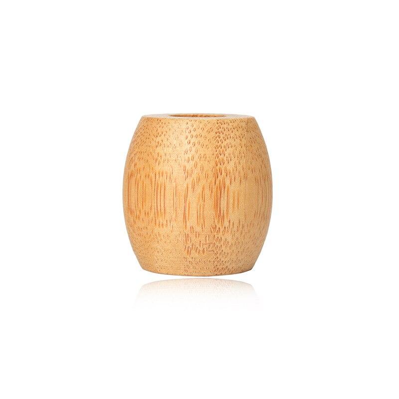 bambu escova de dentes titular redondo natural 05