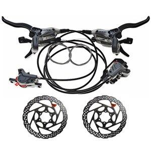Image 3 - SHIMAN0 ALIVI0 M4000 / M4050 9 speed 27 speed dağ bisikleti bisiklet vites takımı eklendi BR M4050 + RT56 / MT200 + G3 marka yeni origi