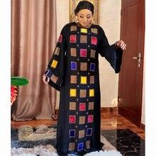 African-Dress Headtie Ankara Robe Bazin Women Dashiki South Ladies for Vetement Femme