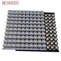 10 ~ 100 stücke WS2812B LED Einzeln adressierbaren WS2811 IC rgb weiß/schwarz 2812b führte kühlkörper (10mm * 3mm) 5050 SMD RGB Eingebaute