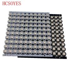 10 ~ 100 Pcs WS2812B LED Secara Individual Addressable WS2811 IC RGB Putih/Hitam 2812b LED Heatsink (10 Mm * 3 Mm) SMD 5050 RGB Built-In(China)