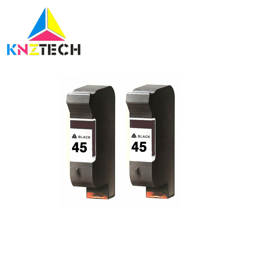 KNZTECH 51645A Ink Cartridges Compatible For Hp45 Compatible For Hp 45 Deskjet 710c 712c 720c 722c 815c 820 Ect Printer