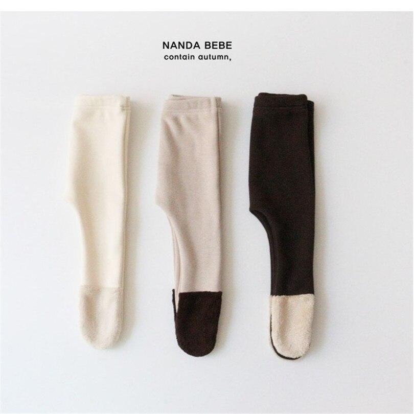 velo quente calcas infantis legging do bebe 02