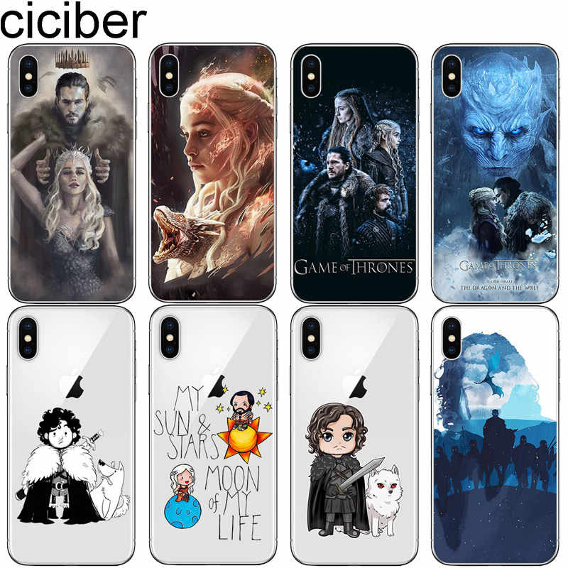 Capa de celular com cigarros game of thrones, para iphone 7 8 6 s plus x xr xs max 5 5S se capa 2020 de tpu macio para iphone 11 pro max, coque