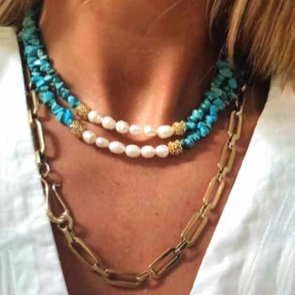collier perle tour de cou