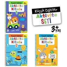 Small Geniuses Activity Set: 3 + Years Old (3 Book Suit)