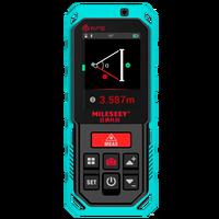 Mileseey في الهواء الطلق ليزر ديستانك متر مع 4x التكبير قياس الليزر المسافة مع بلوتوث الرقمية مقياس مسافات الليزر-في أجهزة الليزر لكشف المدى من أدوات على