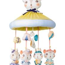 DIY Baby Music Toys Electronic Plastic Rattles 0-12 Months Cloth Plush Animal Bird Cartoon Toddler Dolls Toy for Newborns AA50YL