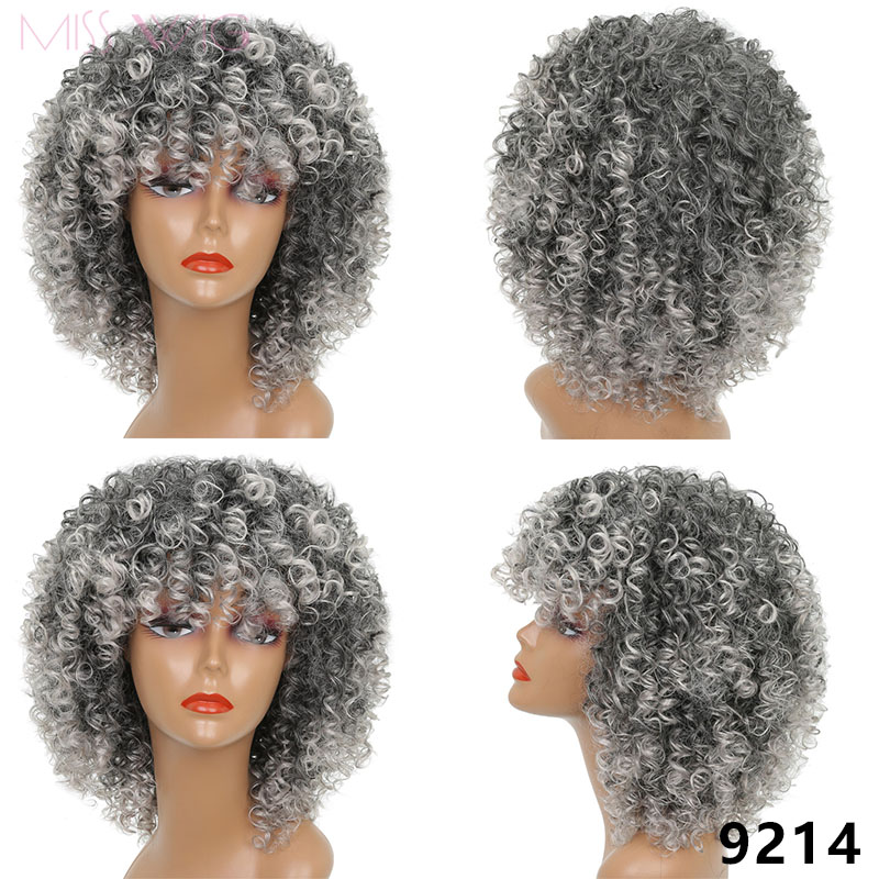 ALI shop ...  ... 32808427566 ... 4 ... Long Red Black Afro Wig Kinky Curly Wigs for Black Women Blonde Mixed Brown 250g Synthetic Wigs ...