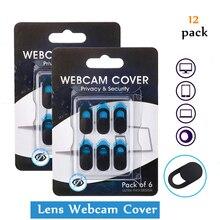 12PCS Webcam Cover Universal Smartphone Laptop Camera Cover Cache Slider Magnet Web Cam Cover for Laptop PC Ipad Macbook Sticker