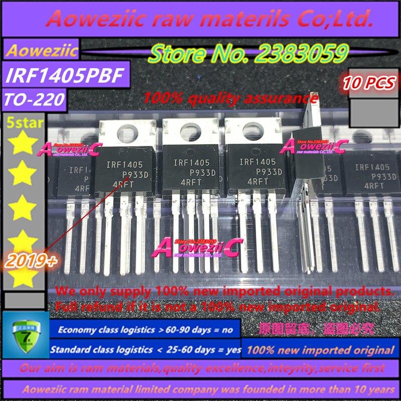 Aoweziic 100% New Imported Original IRF1405PBF IRF1405 IRF1405ZPBF IRF1405Z F1405Z TO-220  IRF1405STRLPBF IRF1405S F1405S TO-263