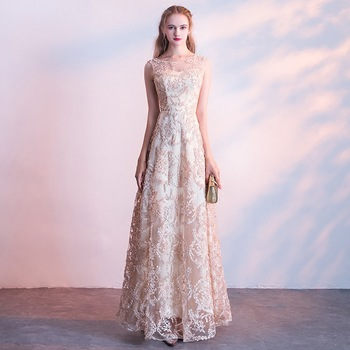 Women Full Length Qipao charming chinese wedding dress Lace Cheongsam Bride Wedding Evening Party Dress vestido chines 2020