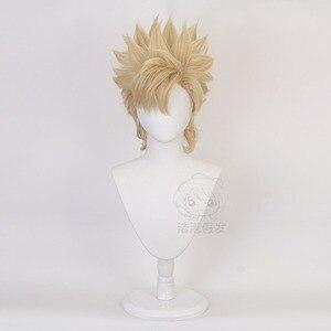 JoJo's Bizarre Adventure Caesar Anthonio Zeppeli Косплей Короткие термостойкие синтетические волосы Хэллоуин Карнавал вечерние + парик