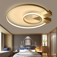 Простая пост современная оригинальная светодиодная лампа, потолочные светильники, лампа с плафоном для дома, гостиной, потолочные светильн