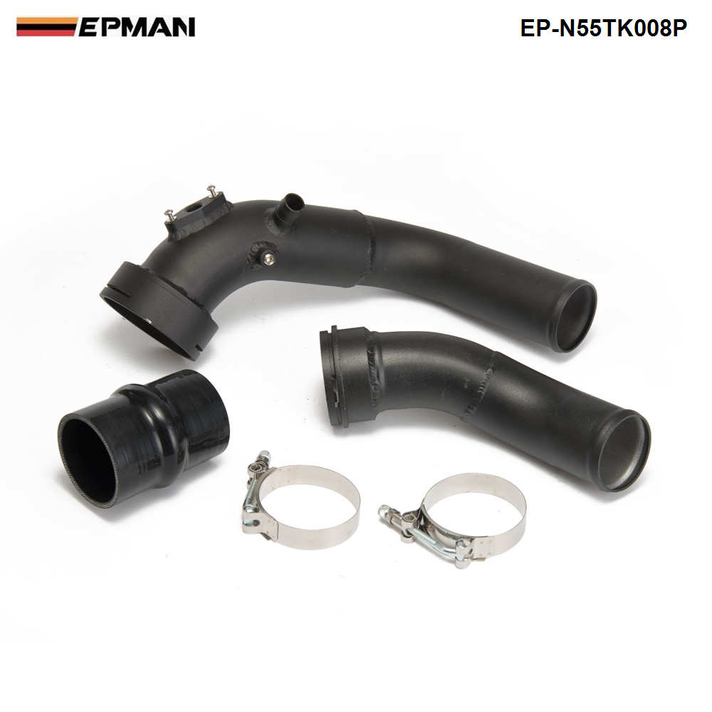 Intake Turbo Charge Pipe Kit Aluminum OEM Replacement for BMW F20 F30 M135i M235i 335i 435i N55 3.0T
