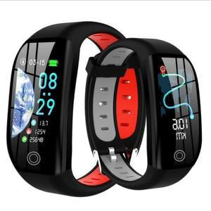 Image 1 - Smart bracelet Bluetooth clock fitness tracker sleep heart rate blood pressure monitoring information reminder smart bracelet