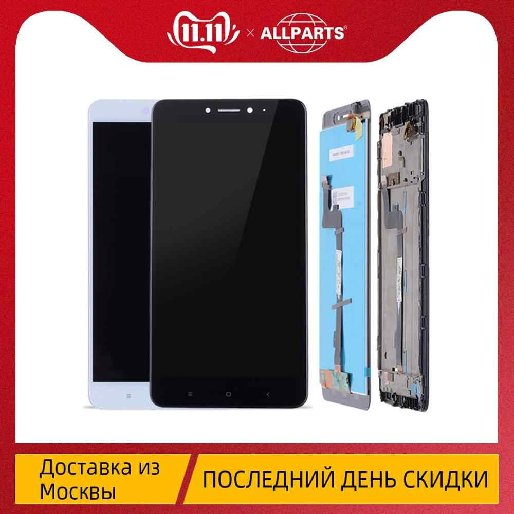 Original Display For XIAOMI Mi Max 2 LCD Touch Screen Digitizer 10 Dotyk Frame Ramka ORYG Black White Color