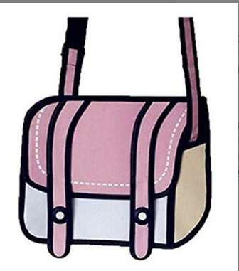 Fashion Woman Bags 2d Cartoon Bag Messenger Shoulder Crossbody Bag Bolsa Feminina Bolsosde Ombre 3d Handbag Uncategorized Fashion & Designs Ladies Bags Luggage & Bags