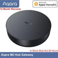 Navio rápido aqara hub gateway m2 zigbee 3.0 siri controle de voz aplicativo de controle remoto ligação inteligente trabalho apple homekit aqara casa app