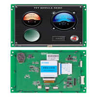 STONE 7 Inch HMI TFT LCD Display with Controller + Program to Replace HMI & PLC